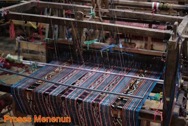 Proses menenun 2