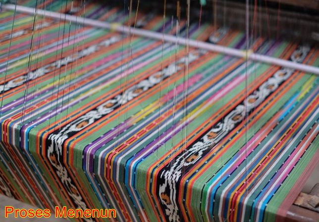 Proses menenun
