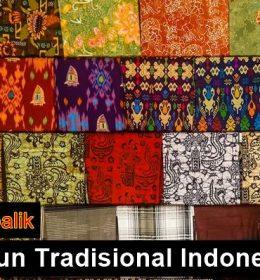 Fakta Kain tenun Indonesia