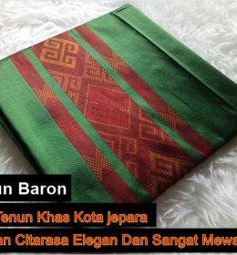 Sejarah Tenun Baron